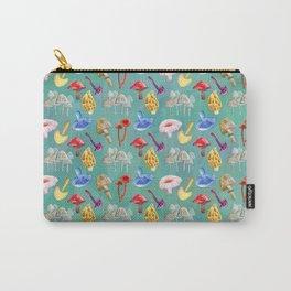 Honguitos (Mushrooms) Carry-All Pouch