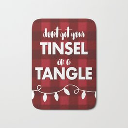 TANGLED TINSEL Bath Mat