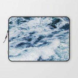 Ocean Waves: A Power Greater Than Me Laptop Sleeve