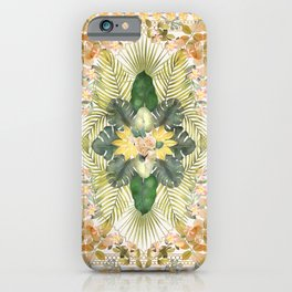 Tropical Foliage 09 iPhone Case