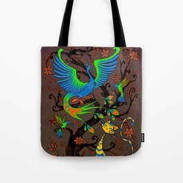 Fresque Tote Bag