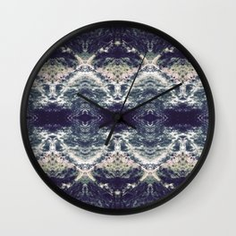 Cool Waters - Blue River Wall Clock