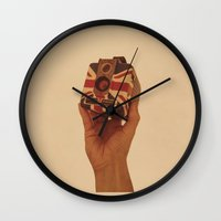 british Wall Clocks featuring British Brownie by Dan Howard