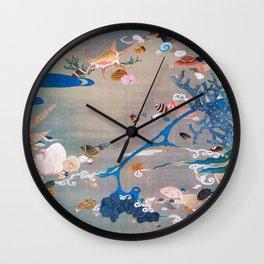 Shellfishes - Digital Remastered Edition Wall Clock