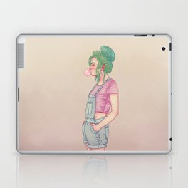 Bubbly Lady Laptop & iPad Skin