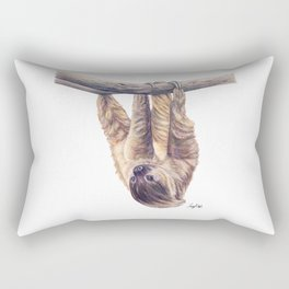 Wookie the Two-Toed Sloth Rectangular Pillow
