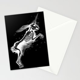 Unicorn Bunny - inverted Stationery Cards