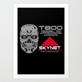 T800 model 101 Art Print