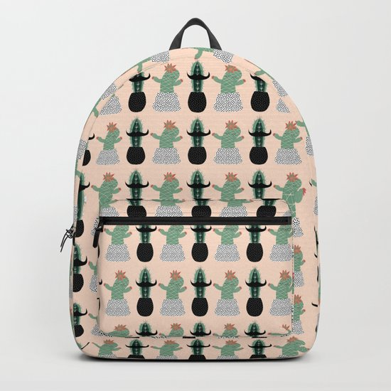 Mr. and Mrs Succulent Backpack