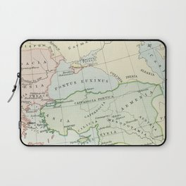 Old Map of The Roman Empire Laptop Sleeve