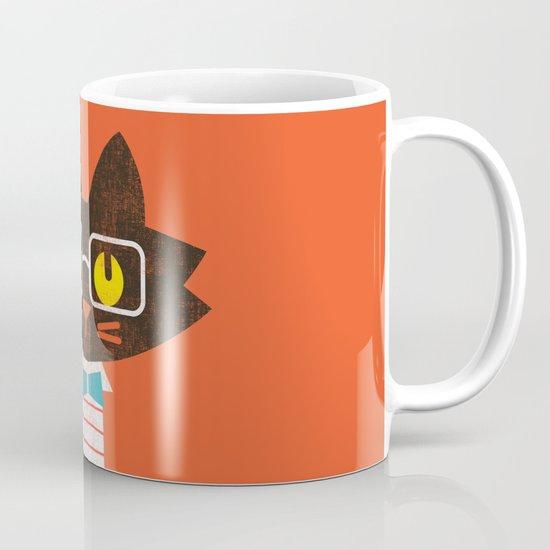 Fitz - Preppy cat Mug