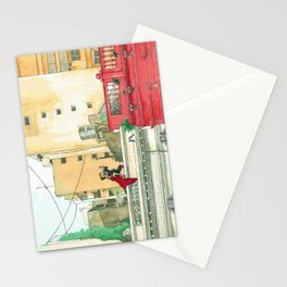 Calle Salguero, a rooftop tanda Stationery Cards