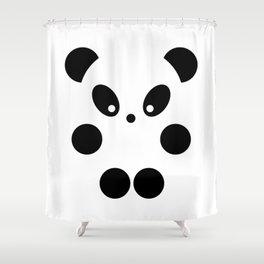 Little panda #society6 #decor #buyart #artprint Shower Curtain