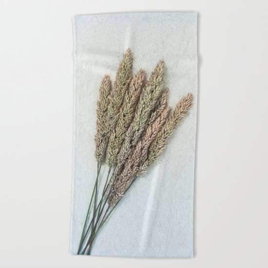 Summer Grass III Beach Towel