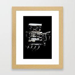 1932 Ford Hot Rod - Engine Framed Art Print