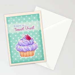 Cupcake Mouse Stationery Cards