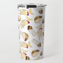 Tacos Burritos Chihuahua Dog Travel Mug