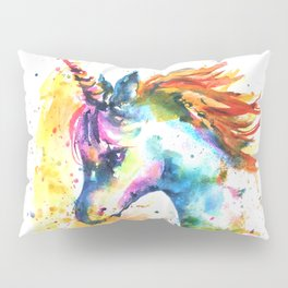 Unicorn Splash Pillow Sham