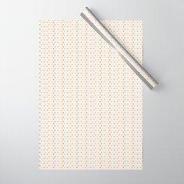 Boho Rainbow hearts Wrapping Paper