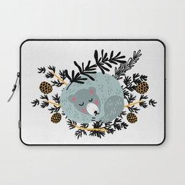 slipping bear Laptop Sleeve