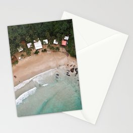 Tropical Summer Beach in The Philippines Stationery Cards