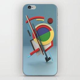 Constructivism & Suprematism in the style of Ivan Kliun (1 of 9) iPhone Skin