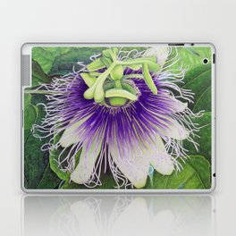 Passion Fruit Blossom Laptop & iPad Skin