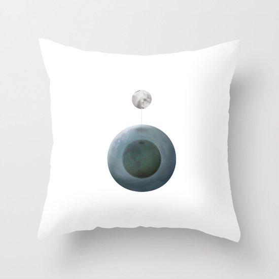 Sinatra Moon Throw Pillow
