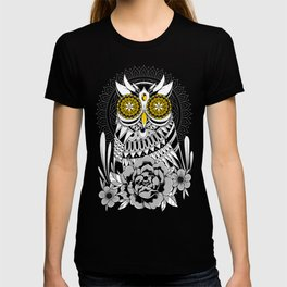 Golden Eyes Owl T-shirt