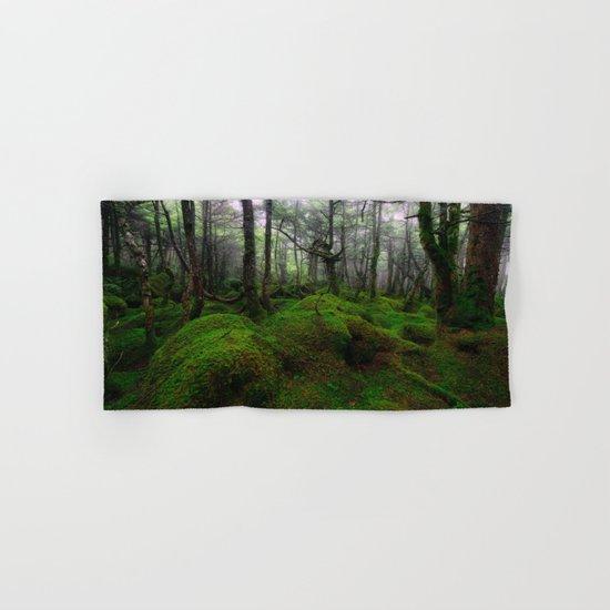 Enchanted forest mood III Hand & Bath Towel