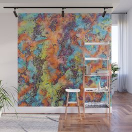 Playing colors Wall Mural