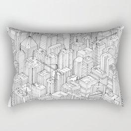 Isometric Urbanism pt.1 Rectangular Pillow