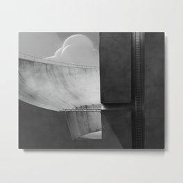 Shaft section Metal Print