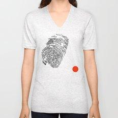 the Fingerprint Unisex V-Neck