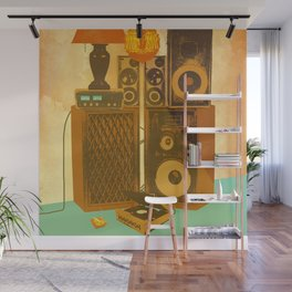 RECORD ROOM Wall Mural