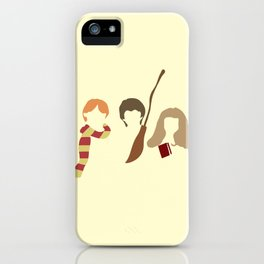 Baby Wizard Trio iPhone Case