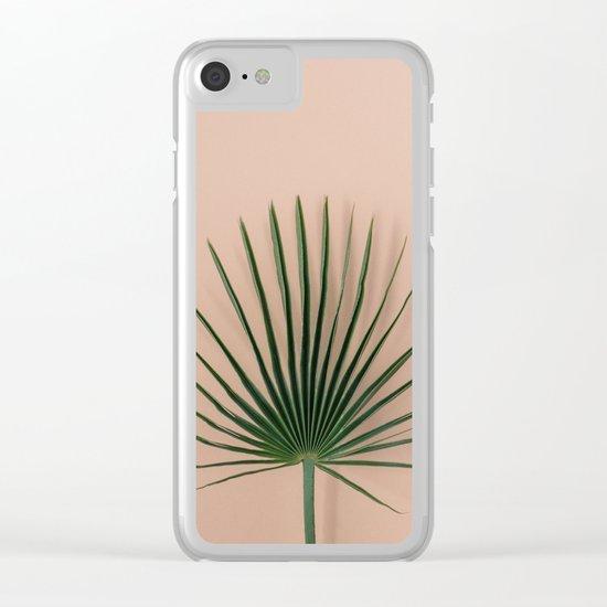 pink botanics Clear iPhone Case