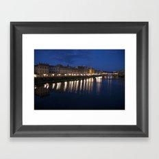 Blue Blue Italy Framed Art Print