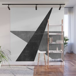 Ambitious No. 2 | Abstract in Blacks + Grays Wall Mural