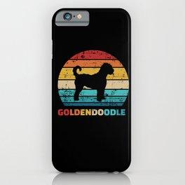 Goldendoodle vintage iPhone Case