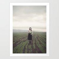 surrealism Art Prints featuring surrealism by imperfectionist