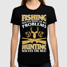 24784c7c T-Shirt For Fishing And Hunting Lover. T-shirt