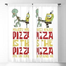 Pizza Pizza Best Blackout Curtain