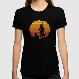 Jakku Sunset : The Force Awakens T-shirt