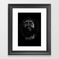 Burning Spears Framed Art Print