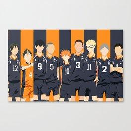Haikyuu Karasuno Team  Canvas Print