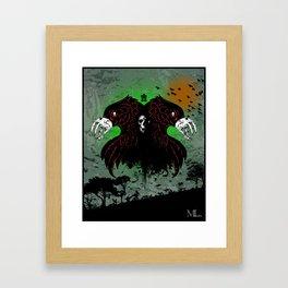 Byrd Gang Framed Art Print