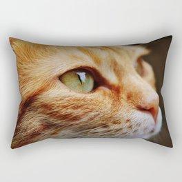 cat face 4 Rectangular Pillow