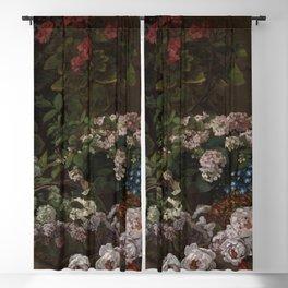 Claude Monet - Spring Flowers.jpg Blackout Curtain