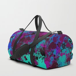 paint splatter on gradient pattern tgp Duffle Bag